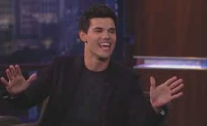 Taylor Lautner on Jimmy Kimmel Live: Breaking Dawn Dish, Abduction Sneak Peek