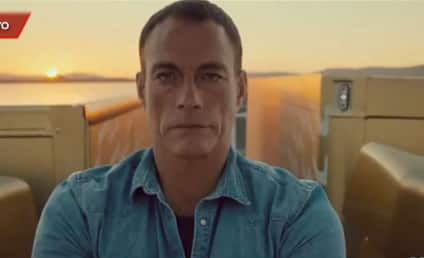 Jean-Claude Van Damme Performs INSANE Split in New Volvo Commercial