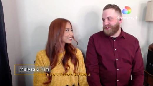 Melisa Zeta and Tim Clarkson Are Back Together (Discover +)