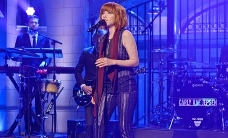 Carly Rae Jepsen on Saturday Night Live
