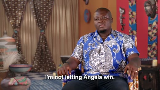 Michael Ilesanmi - I'm not letting Angela win