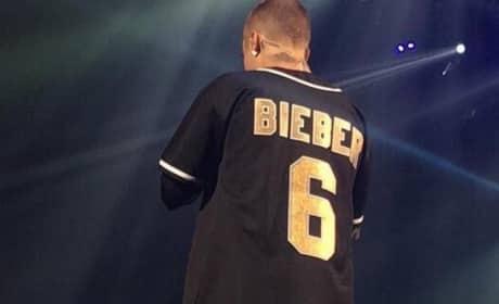 Justin Bieber's Back