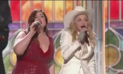 "Mary Lambert, Madonna Join Macklemore & Ryan Lewis ""Same Love"" Grammy Performance: Watch!"