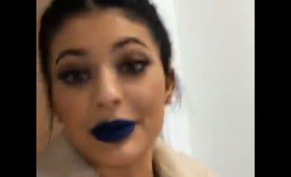 "Kylie Jenner Does Caitlyn Jenner's Lipstick, Declares Herself ""Lip Expert"""