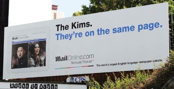 Kim Billboard