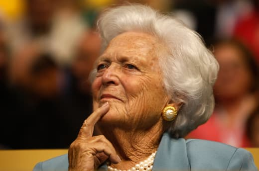 Barbara Bush Photo