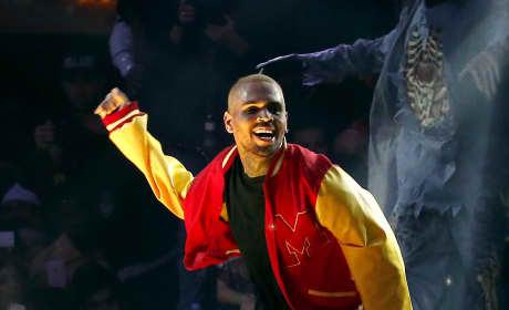 Chris Brown Performs at Drai's Las Vegas
