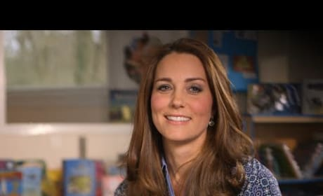 Kate Middleton For Children's Mental Health Week