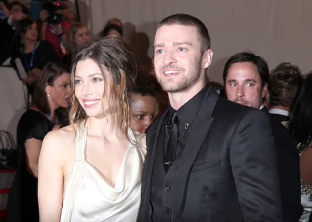 Jessica Biel and Justin Timberlake Together