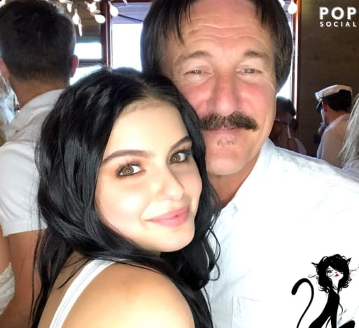Ariel Winter and Dad