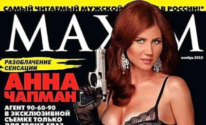 Sexy Spy: Anna Chapman Poses For Maxim