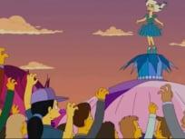 Lady Gaga Simpsons Photo