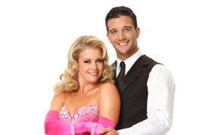 Mark Ballas and Melissa Joan Hart