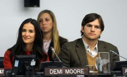 Ashton Kutcher and Demi Moore Fight Human Trafficking