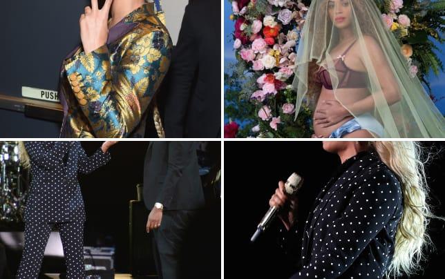 Beyonce says peace