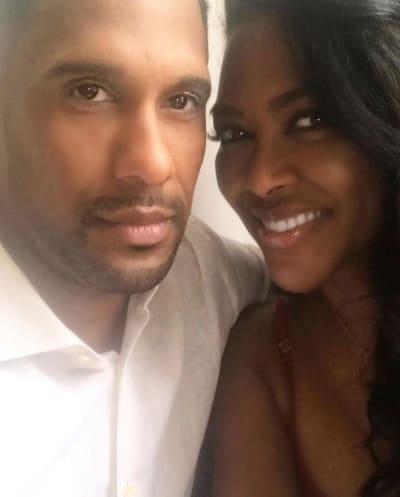 Marc Daly and Kenya Moore
