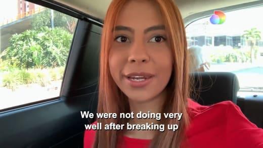 Melisa Zeta- We're not doing well after the break-up