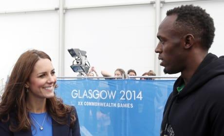 Kate Middleton, Usain Bolt