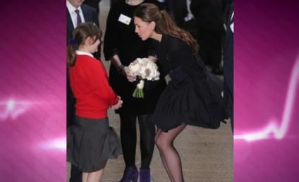 Kate Middleton Has a Marilyn Monroe Moment: See it Here!
