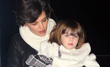 Suri Cruise Psyched For Pal Grier's Birthday Party