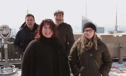 Jimmy Fallon, Jon Hamm Photobomb NYC Passersby on Tonight Show: Watch!
