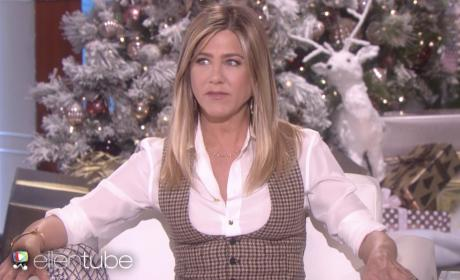 Jennifer Aniston's 2016 Holiday Appearance on The Ellen DeGeneres Show!