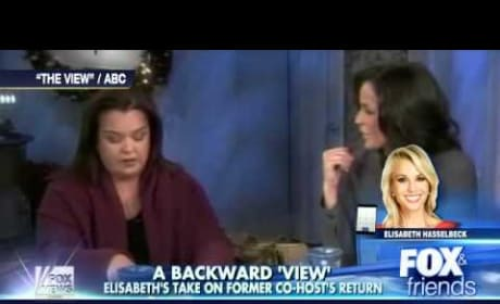 Elisabeth Hasselbeck Talks Rosie O'Donnell