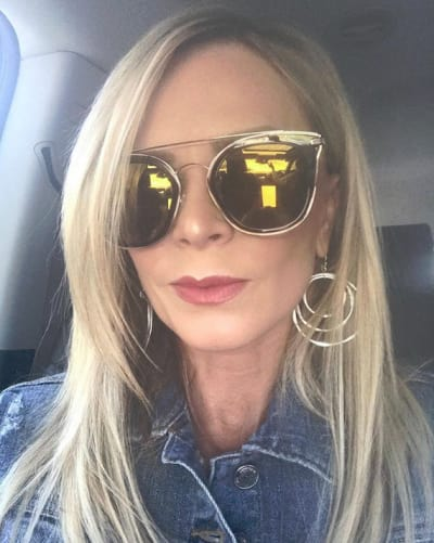 Tamra Judge Rocking Sunglasses