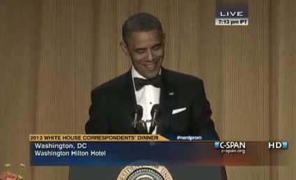 White House Correspondents Dinner 2013: Obama, Conan Bring the House Down