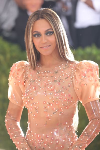 Beyonce at 2016 MET Gala