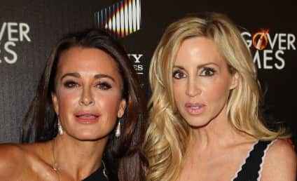 Kyle Richards and Camille Grammer: Leave Yolanda Alone!