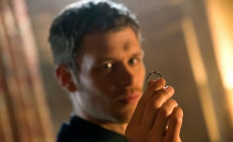 Klaus Mikaelson with a Ring