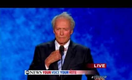 Clint Eastwood Debates, Slams Invisible President Obama on Republican National Convention Stage