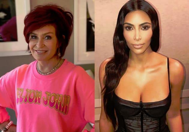 Sharon Osbourne, Kim Kardashian Split