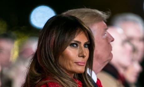 Angry Melania Trump