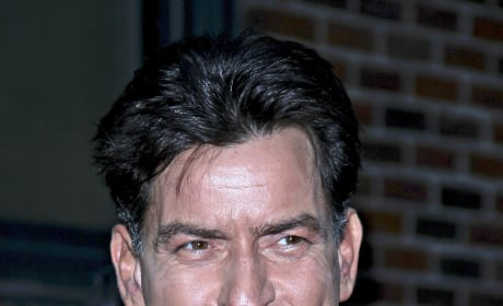 Charlie Sheen Smiles
