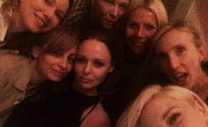 Gwyneth Paltrow: Girls' Night Selfie Features Chelsea Handler, Gwen Stefani, Half of Hollywood