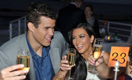 Kim Kardashian and Fiance Make First Public Appearance