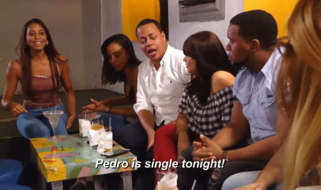 Pedro jimeno is single tonight hes not
