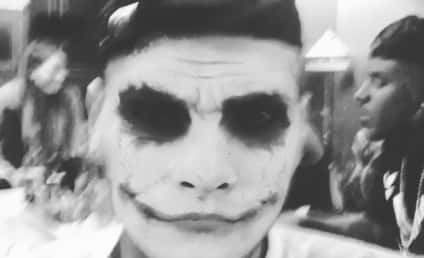 Chris Brown Says Rapey Things, Does a Joker Impression in Creepy Video