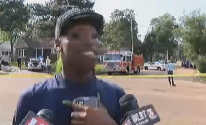 Eyewitness Gives HILARIOUS Account of Police Chase: Watch!