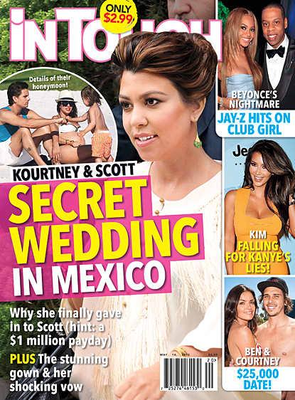 Kourtney Kardashian Married?!?