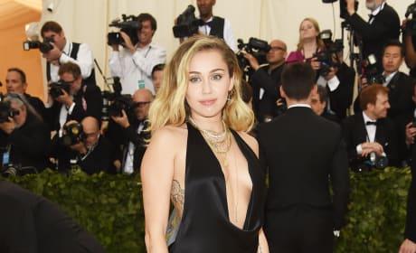 Miley Cyrus at the Gala
