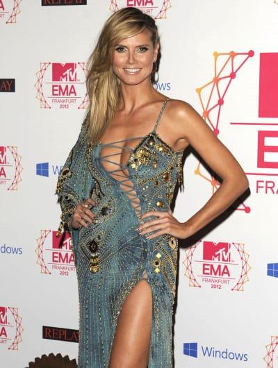 Heidi Klum EMAs Outfit