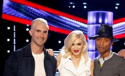 Blake Shelton & Gwen Stefani: Hooking Up on The Voice Set?!