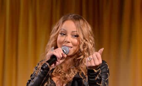 Mariah Carey in Black