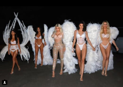 The Kardashians as Angels
