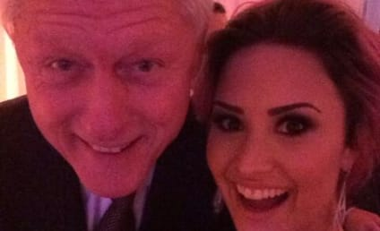 Demi Lovato and Bill Clinton: Unexpected Selfie Alert!