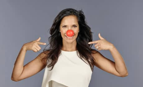 Padma Lakshmi Red Nose