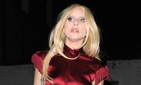 Lady Gaga in Britain